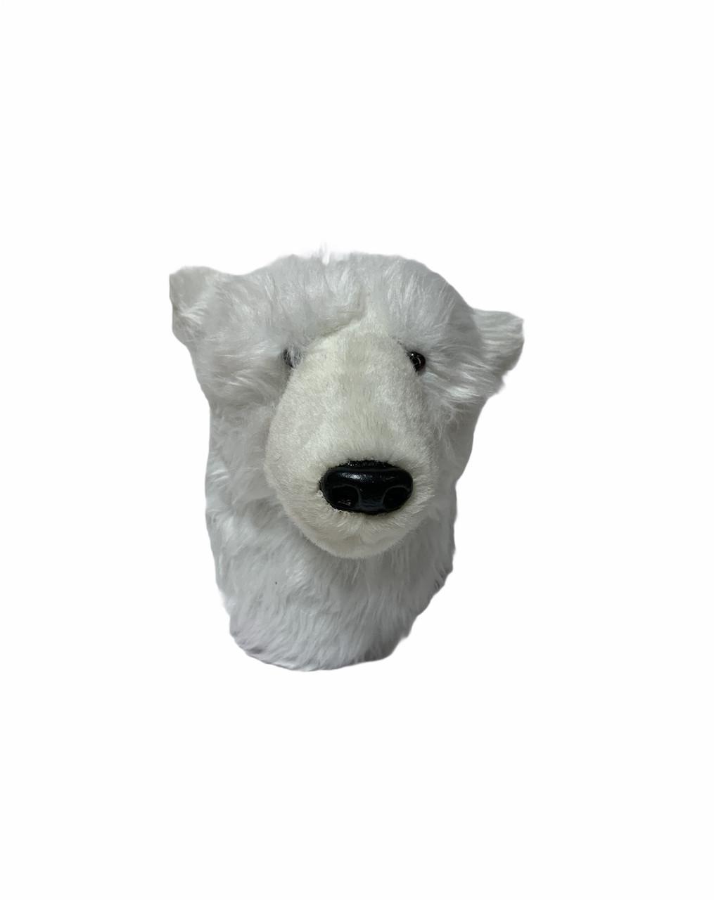 Плюшева настінна голова білого ведмедя Edeka