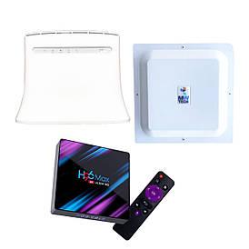 "4G Комплект  ""Интернет + ТВ"" (роутер, смарт приставка, антенна 15 дБ)"
