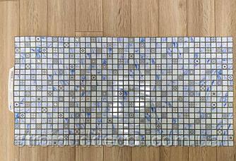 Пластикова панель мозайка лазур 960 * 485мм 1 шт