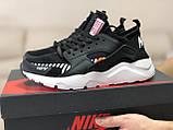 Мужские демисезонные кроссовки Baas, черно-белые, фото 2