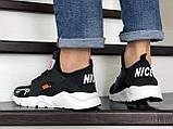 Мужские демисезонные кроссовки Baas, черно-белые, фото 3