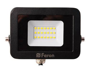 Прожектор светодиодный Feron LL-852 LED 20 Вт Черный (007659)