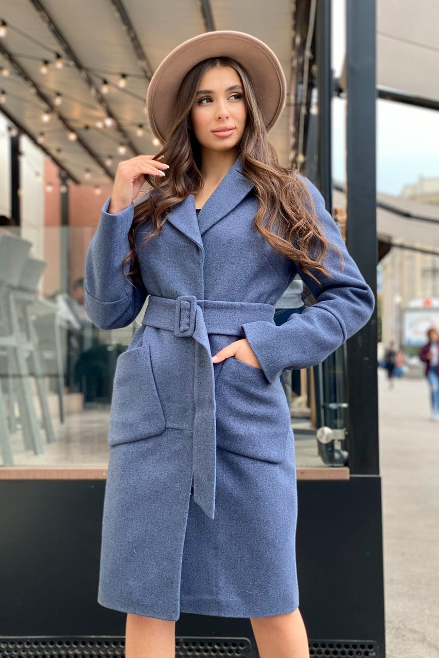 Зимове жіноче пальто міді (р. S, М, L) арт. Ф-81-38/44114