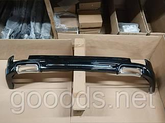 Накладка на задній бампер Modellista на Toyota Prado 150 (09-17)