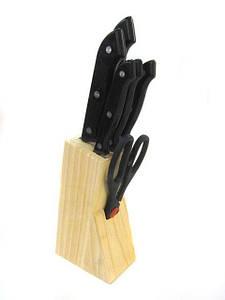 Набор кухонных ножей Empire EM-3117 7 в 1 Черный (005075)