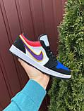 Чоловічі демісезонні кросівки Nike Air Jordan 1 Retro,різнокольорові, фото 2