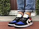 Чоловічі демісезонні кросівки Nike Air Jordan 1 Retro,різнокольорові, фото 4