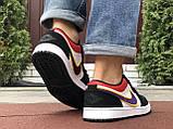 Чоловічі демісезонні кросівки Nike Air Jordan 1 Retro,різнокольорові, фото 5