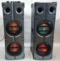 Активна акустична система SA-885 Sky Audio з LED підсвічуванням (USB/Bluetooth/FM/Пульт ДУ)