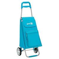 Господарська Сумка на колесах Gimi 45л ARGO, небесно-блакитний (GM18938)