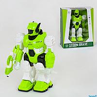Робот 605 световые, звуковые эффекты, ходит, в коробке
