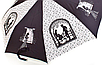 """Зонт ZEST, полуавтомат серия 10 спиц расцветка """"Date"""" черно-белый, фото 2"""