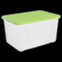 Контейнер для зберігання речей Алеана 40л, оливковий (122044)