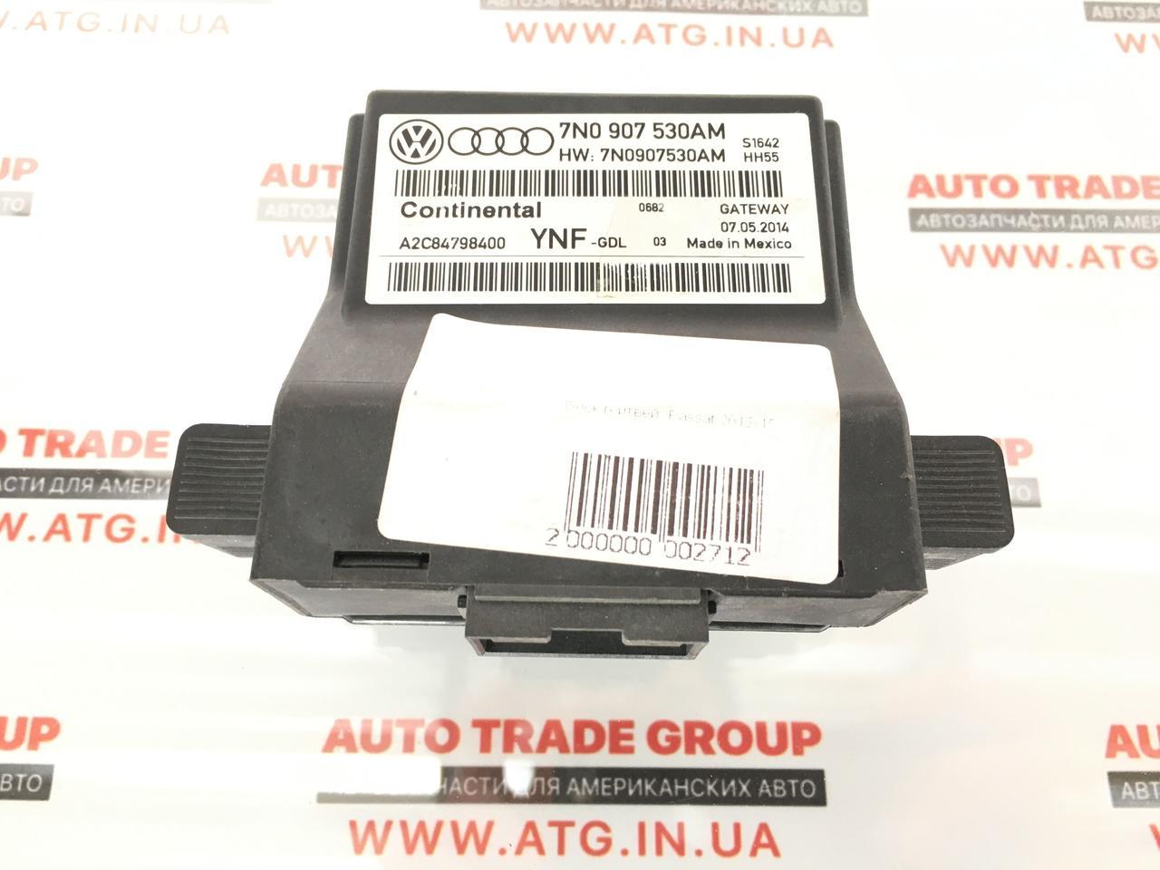 Блок управления межсетевым интерфейсом Volkswagen Passat B7 USA 1.8 TSI 2012-2015 7N0907530AR