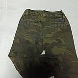 Джинсы демисезонные модные красивые оригинальные для мальчика. Низ штанов на манжете., фото 2
