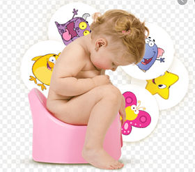 Наклейки для приучения ребенка к горшку Magic Sticker 1 шт без упаковки