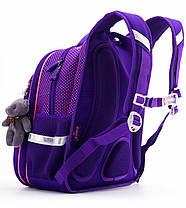 Набор рюкзак школьный ортопедический для девочки в 1-4 класс пенал и сумка для обуви Winner One R1-002, фото 2