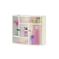 Шафа у ванну кімнату Prima Nova, прозорий (9416)
