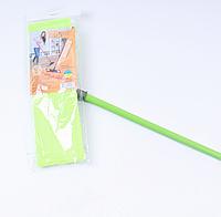 Швабра Eco Fabric з мікрофібри 42 см, ручка 110 см, зелений (EF-MonoG)