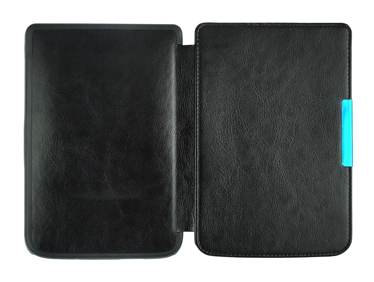 Обкладинка-чохол для PocketBook Touch Lux 3 626/625/624/615 – колір чорний