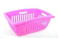 Кошик Ramacciotti Plast BILLY прямокутна 25л, рожевий (111/pink)