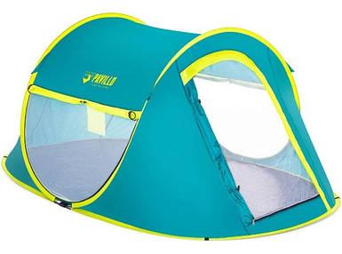 Палатка туристическая двухместная Bestway 68086 Cool Mount, однослойная, полуавтоматическая
