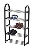 Полиця для взуття на 5-ступенева Eco Fabric 50*19*82см, мікс кольорів (EF-4750-5)