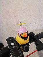 Уточка з підсвічуванням на кермо велосипеда WheelUp, качка на кермо велосипеда, качечка, мигалка, сигнал, фото 1