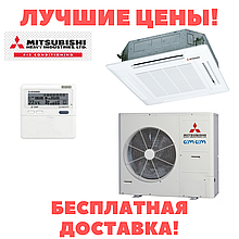 Касетний інверторний кондиціонер Mitsubishi Heavy FDTC60VF/SRC60ZSX-S Hyper Inverter