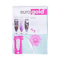 Чохол для прасувальної дошки 130*48 см Eurogold Premium Design (DC48)