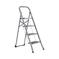 Драбина Aloft металева 4 ступ. з гумовим покриттям (SLS-04)