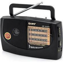 Портативный радио приемник Kipo KB-308/408/409 Радиоприемники