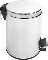 Відро для сміття з педаллю Eco Fabric 5л, нержавіюча сталь (TRL0601-5L)