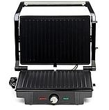 Электрогриль Rainberg RB-5402 2200 Вт сэндвичница c терморегулятором, фото 4