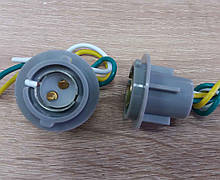 Патрон заднього фонаря LANOS 2-контакта двойной захват