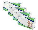 Перчатки Виниловые медицинские неопудреные прозрачные (100шт/уп.) Care 365, фото 2