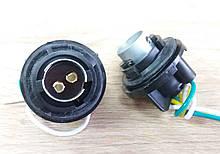 Патрон заднього фонаря LANOS 2-контакта тройной захват