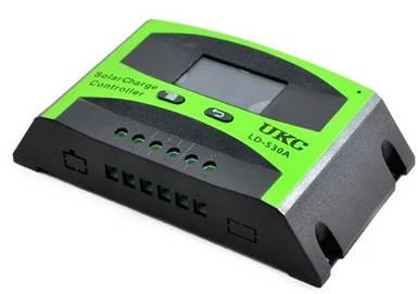 Контроллер для солнечной панели UKC Solar controler LD-530A 30A RG 2817