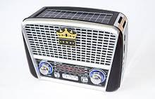 Радиоприемник GOLON RX-455S с солнечной батареей FM/AM/SW, USB microSD (TF), LED фонарик