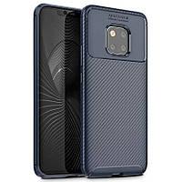 Чехол Carbon Case Huawei Mate 20 Pro Синий