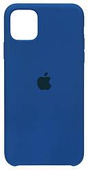 Чохол Apple iPhone 11 Pro Max Silicone Case (HC) Delft Blue