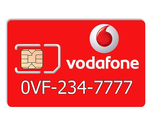 Красивый номер Vodafone 0VF-234-7777, фото 2