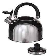 Чайник со свистком 3 л A Plus 1322 из нержавеющей стали