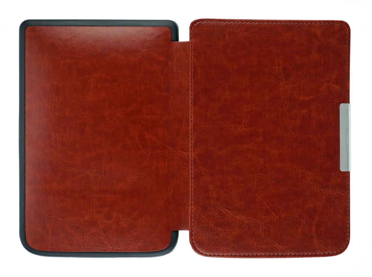 Чохол для PocketBook Touch Lux 3 626/625/624/615 коричневий