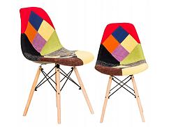 Современный стул в стиле пэчворк FCS Nitos 19