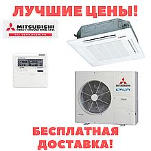 Касетний інверторний кондиціонер Mitsubishi Heavy FDT100VG/FDC100VS Micro Inverter