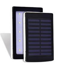 Power Bank з сонячної і LED панеллю 90000 mAh (4531 SC-5) Black