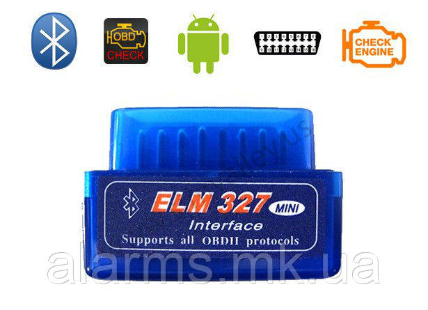 Диагностический сканер ELM327mini bluetooth Версия 2.1