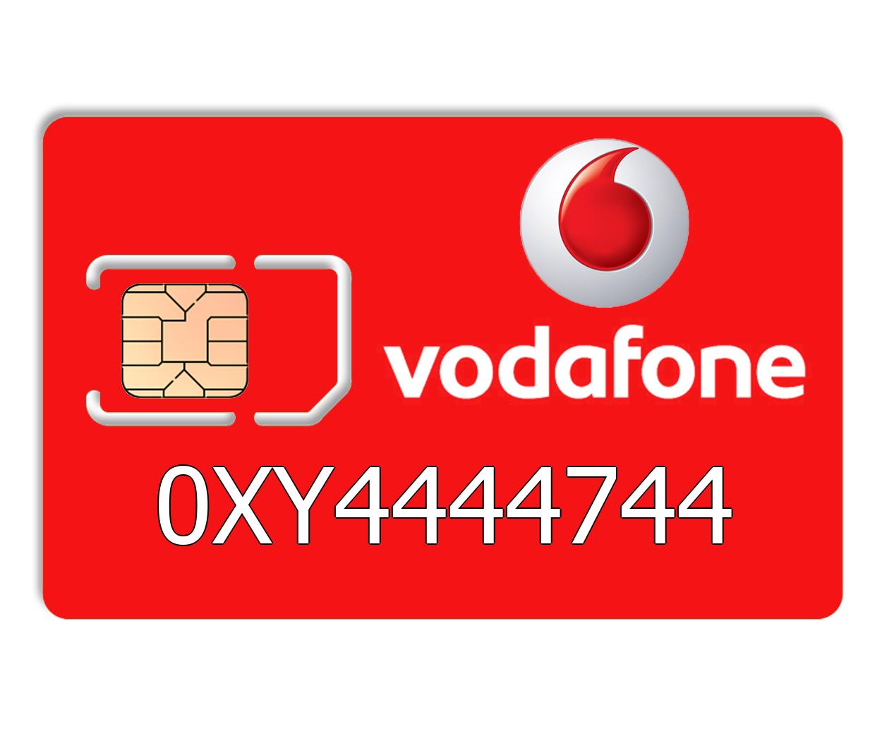Красивый номер Vodafone 0XY4444744