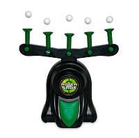 Воздушный домашний тир Hover Shot (Hover Target Game) стрельба по парящим шарикам, детский пистолет  (NS), фото 1